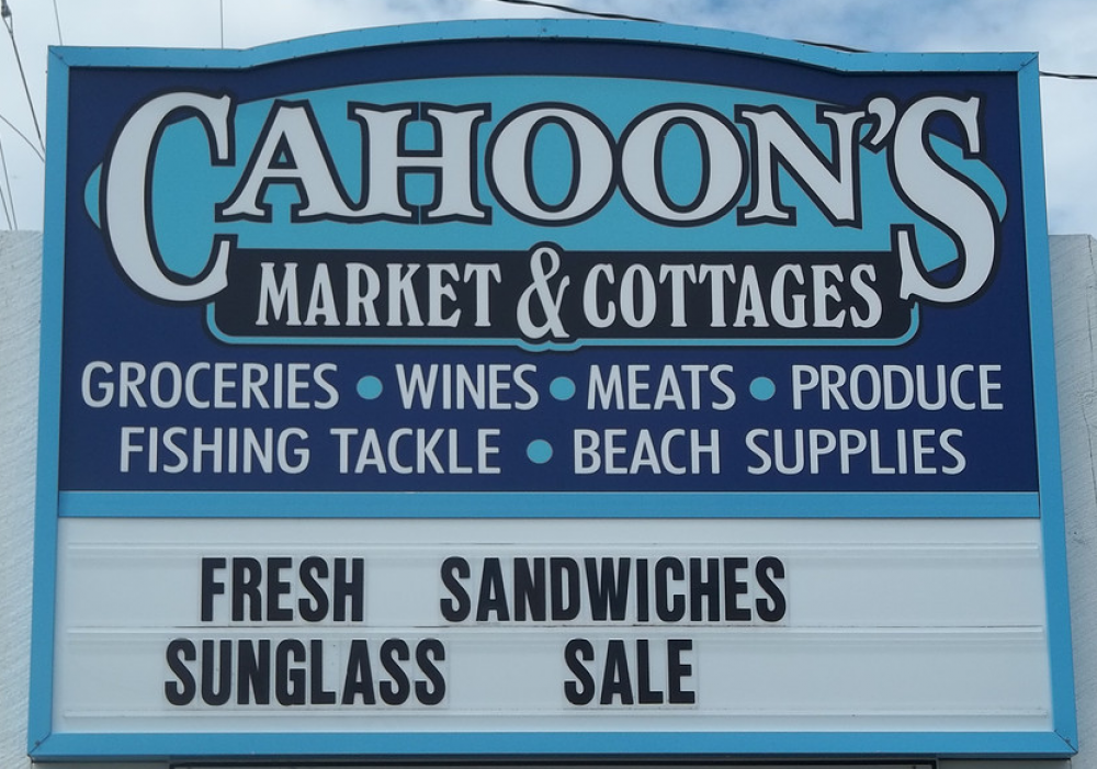Cahoons Market and Cottages
